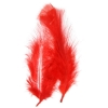 Marabou Feathers Bulk Red